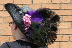 Let's Make a Feathered Faire Hat