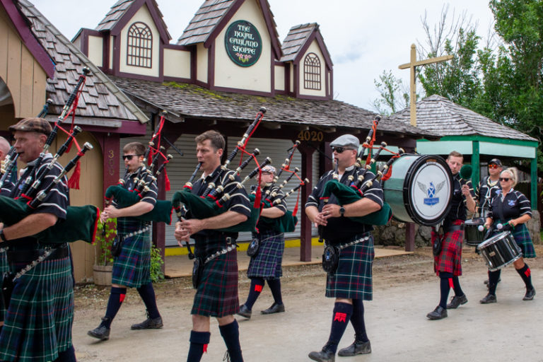 Miami Valley Pipes and Drums Walk Through