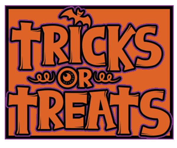 Tricks or Treats Weekend